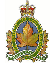 The British Columbia Dragoons Badge