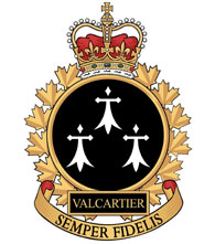 Valcartier Garrison Badge